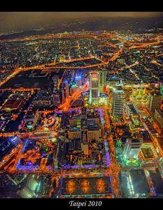 台北の夜 台灣 Taipei Night #Taiwan