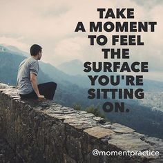 Coming back to physical sensations can be very grounding. For those of us who sit the whole day in front of a screen this is a convenient way to practice mindfulness. It can also help to move the energy down and calm a agitated mind.  Keep on practicing one moment at a time.