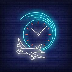 Neon Sign Art, Neon Signs, Tumblr Neon, Neon Symbol, Neon Sign Bedroom, Led Logo, App Background, Clock Icon, Neon Clock