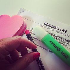 #BarbaraDUrso Barbara D'Urso: Finite le prove.. Domani vi aspetto con Domenica Live!! ❤️❤️❤️ #domenicalive #canale5 #mediaset #tv #diretta #ospiti