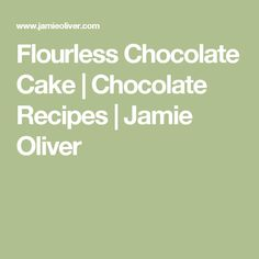 Flourless chocolate torte, Chocolate torte and Torte recipe on ...