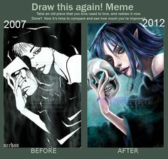 Draw this again! by PiccolaRia.deviantart.com