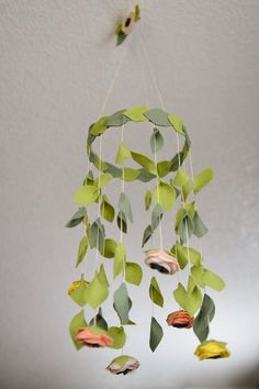 Baby Mobile || Nursery Mobile || Floral Mobile  This nursery mobile is the perfect addition to any nursery! The colors are completely customizable! -Mobile is Ready to hang -The mobile hangs approximately 18 from the hook. Can be adjusted per your needs (add note when ordering) -Flowers and leaves hang approximately 15-16 from the hoop -Mobile is very light  ORDERING: Specify flower color(s) in the notes to seller section when ordering  Please note that all of our items are made to order and…