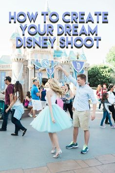 It's always been a dream of mine to have a professional photo shoot in one of the Disney Parks. When my husband and I decided to honeymoon in California, we looked into the idea a little more. It started out as a dream and turned into a reality!