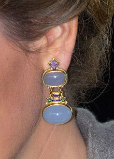 Queen Mathilde earrings