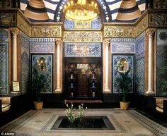 Chapter 9 Exoticism: Interior of Arab Hall, Lord Leighton House, (1865) Architect: George Aitchison