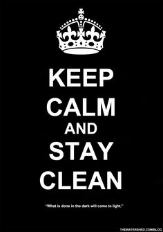 Let today be the day we strive for cleaner living. #clean #meditation #sober…