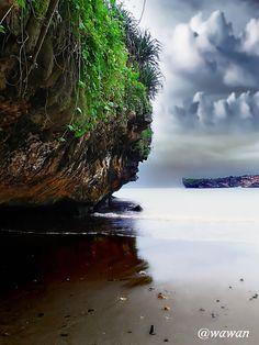 Baron beach, Yogyakarta - Indonesia #SamsungGalaxyAce