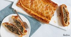 Vegetable Wellington with Mushrooms and Spinach via @PureWow