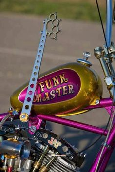 Funk Master chopper with brass knuckles suicide shift