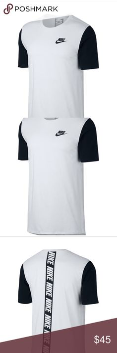 Nike men's shirt Men nike short sleeve shirt, great condition, brand new with tags. Color : black and white Nike Shirts Tees - Short Sleeve