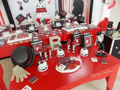 Check out this Michael Jackson birthday party! See more party ideas at CatchMyParty.com!