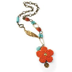 Vintaj® Island Botanic #Necklace
