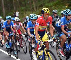 Vuelta a Espana 2014 stage 17 gallery - Alberto Contador on stage seventeen of the 2014 Tour of Spain