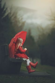 Little girl. Red Boots by Ashley Campbell on 500px