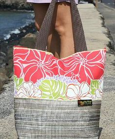 MAUI NUI WEAR mesh bags | 2015 Accessory products | Pinterest