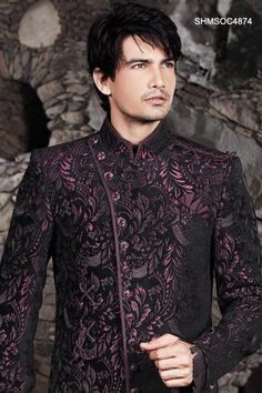 Sherwani Design's - hot...I think men should get some bling and fancy embroidery too ;)