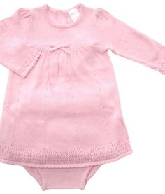 A gorgeous traditional style knitted dress set. Match this classic with some 'Tilly' tights to keep your girl warm. This beautiful dress set is just perfect for a present, Christening, Wedding and days out! Made of soft cotton In pink or cream. Baby Boutique Clothing, Dress Set, Your Girl, Christening, 12 Months, Knit Dress, Knits, Beautiful Dresses, Girl Outfits