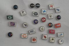 NFL Football Floating Charms for your Origami Owl by FloatMyCharms