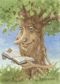Hey, I found this really awesome Etsy listing at https://www.etsy.com/listing/179273890/storytelling-tree-ent-5x7-print