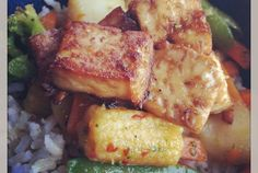 Sesame Chili Tofu and Vegetable Stir Fry | VegWeb.com, The World's Largest Collection of Vegetarian Recipes