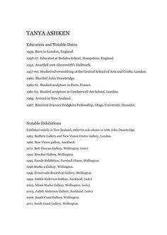 CV (page 1)