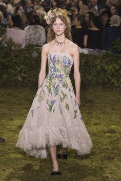 #ChristianDior  #fashion  #Koshchenets  Christian Dior Spring/Summer 2017 Couture Collection | British Vogue