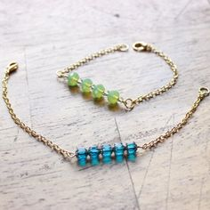 Learn how to make these GORGEOUS bracelets!