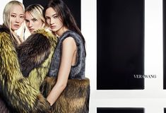 Vera Wang features colored furs in fall-winter 2016 campaign