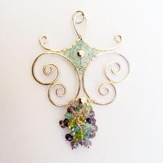 Arabesque Pendant on white | Argentium sterling pendant with… | Flickr