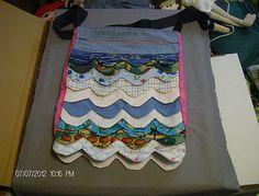 scalloped purse