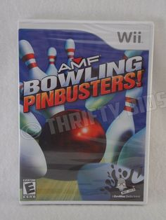 Nintendo Wii AMF Bowling Pinbusters 2007 E Everyone Brand New & Sealed
