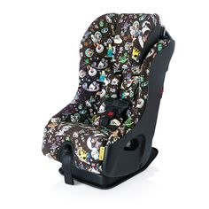 Clek's incredible FlloSpace Tokidokiconvertible car seat features Clek's superlativequalityandisrearfacing to 50 pounds and forward facing to 65.