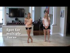 ▶ Dance Turns Tutorial - How to Do Sail Turns -Floats - YouTube