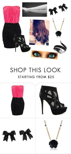 Untitled #125 by arrianamarie on Polyvore featuring River Island, Effy Jewelry and Betsey Johnson