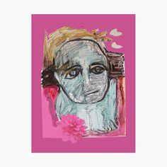 Create Image, Original Art For Sale, Top Artists, Pink Flowers, Fine Art America, Print Design, Art Drawings, Original Paintings, My Arts