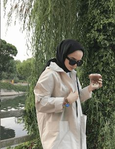 Casual Hijab Outfit, Ootd Hijab, Hijab Chic, Muslim Fashion, Modest Fashion, Hijab Fashion, Fashion Outfits, Aesthetic Girl, Aesthetic Clothes