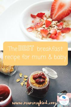 A tasty breakfast recipe for mums and babies! Mummy and Baby bears' porridge on Mummykind #breakfast #food #recipes #healthy