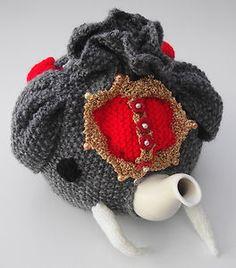 elephant tea cosy knitted