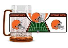 Cleveland Browns Freezer Mug