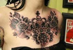Chest piece tattoo tattoos ink inked