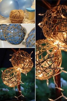 11 Best DIY Wedding Decor Ideas that will give you all the inspiration you need to create a stunning, dreamy & romantic wedding day you'll remember forever! Homemade Wedding Decorations, Outdoor Wedding Decorations, Wedding Centerpieces, Homemade Wedding Flowers, Whimsical Wedding Ideas, Diy Wedding Lanterns, Outdoor Rustic Wedding Ideas, Diy Wedding Crafts, Diy Wedding Table Decorations