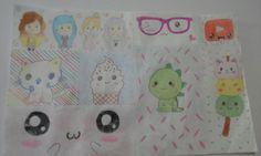 kawaii collage