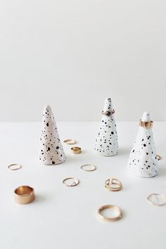 thecatspyjamasclub / DIY faux ceramic ring cones | almost makes perfect