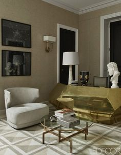 Jean- Louis Deniot New Luxury Project in Paris: a Feminine Design Interior design trends for 2015 #interiordesignideas #trendsdesign For more inspirations: http://www.bykoket.com/inspirations/