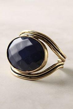 Big #blue #ring #Anthropologie