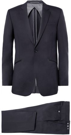 Kilgour Navy Wool Suit sur shopstyle.fr