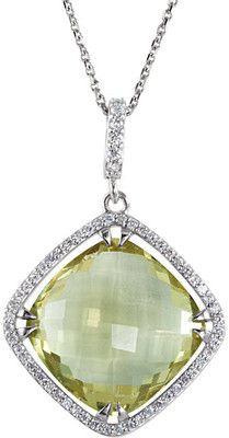 Tasteful Genuine Gemstone Quartz Pendant for SALE at BitCoin Gems