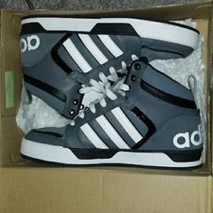 Adidas High Tops Mens 7 (fits size 8 in womens) Adidas Shoes