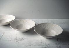 高田かえ 白土 鉢